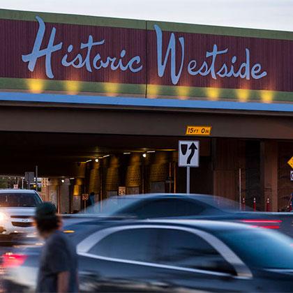 Historic Westside sign